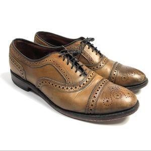 Allen Edmonds Strand Leather Wingtip Cap Toe Shoes